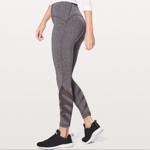 Lululemon Gray Motionful 7/8 Leggings